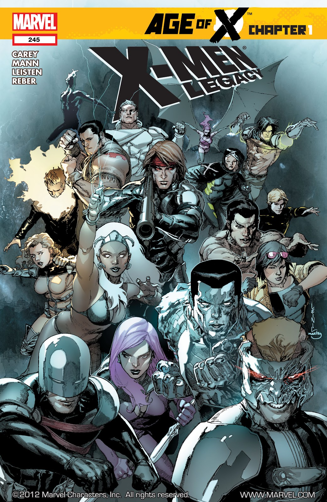 X-Men Legacy (2008) 245 Page 1