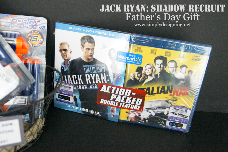Jack Ryan: Shadow Recruit Father's Day Gift Idea + Printable | #JackRyanBluRay #shop #printable #fathersday #fathersdaygift