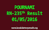 POURNAMI RN 235 Lottery Result 1-5-2016