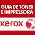 Guia de toner e impressoras - Xerox
