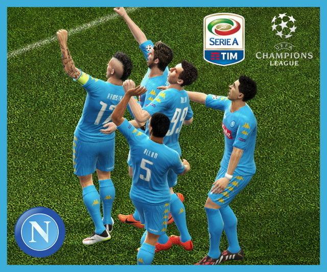 PES 2013 SSC Napoli Kit Season 2016-2017