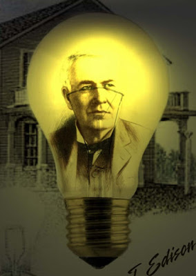 Biografi Irving Langmuir - Penemu Kawat Pijar           Irving Langmuir lahir di Brooklyn, New York, pada tanggal 31 Januari 1881, sebagai yang ketiga dari empat putra Charles Langmuir dan Sadie, nee Comings. pendidikan awal-Nya diperoleh di berbagai sekolah dan lembaga di Amerika Serikat, dan di Paris (1892-1895). Ia lulus sebagai insinyur metalurgi dari School of Mines di Columbia University pada tahun 1903. bekerja Pascasarjana Kimia Fisik bawah Nernst di Göttingen yang dia gelar MA dan Ph.D. pada tahun 1906 Kembali ke Amerika, Dr Langmuir menjadi Instruktur dalam Kimia di Stevens Institute of Technology, Hoboken, New Jersey, tempat ia mengajar sampai dengan Juli 1909.   Dia kemudian masuk ke Laboratorium Penelitian General Electric Company pada Schenectady di mana ia akhirnya menjadi Direktur. Pekerjaan pertamanya ialah memecahkan masalah yang dihadapi sekaitan dengan bola lampu filamen tungsten baru. Langmuir berkonsentrasi pada prinsip dasar di mana lampu bekerja, meneliti reaksi kimia yang dikatalisis oleh filamen tungsten panas. Ia mengusulkan mengisi bola lampu dengan gas nitrogen (dan kemudian gas argon) dan memilin filamen itu menjadi bentuk spiral untuk menghambat penguapan tungsten. Minatnya dalam asas itu melibatkannya dalam teori ikatan kimia dalam masalah elektron, dan ia menguraikan gagasan