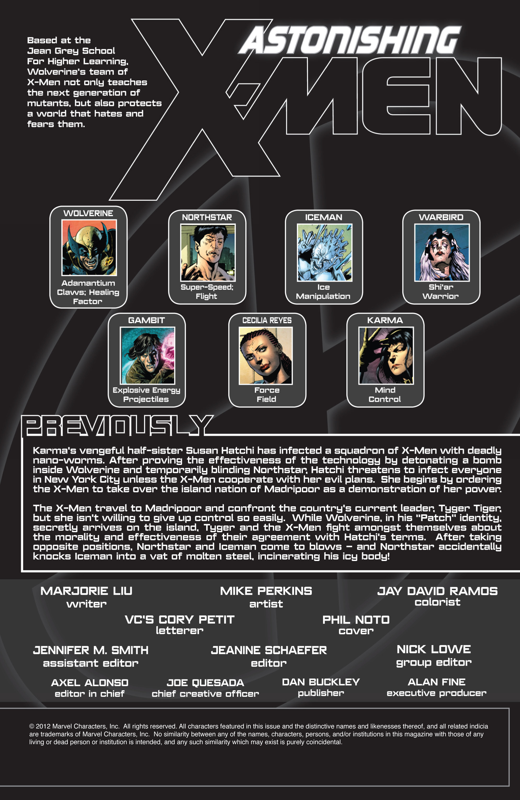 Read online Astonishing X-Men (2004) comic -  Issue #55 - 2