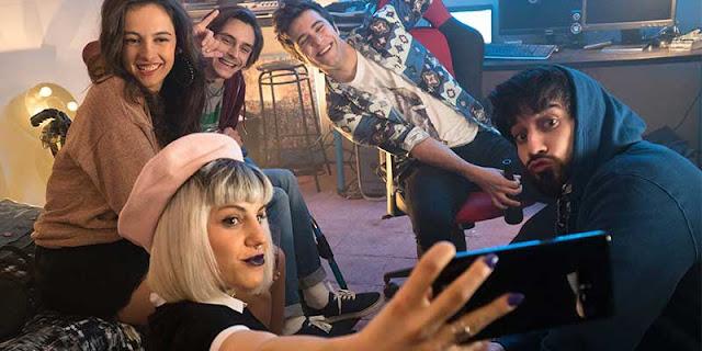 Las redes sociales y la televisión online se mezclan en 'Bajo la red' la nueva serie de RTVE