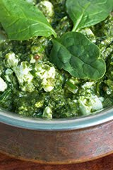 "Taste of ""Indian-ish"" Saag (Cooked Spinach)"