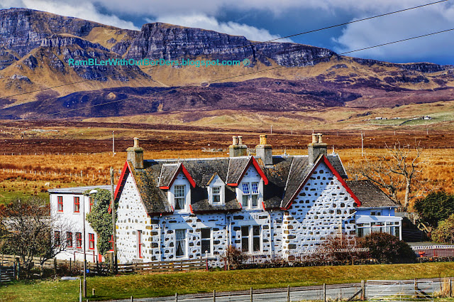 Staffin House, Isle of Skye, Scotland, UK