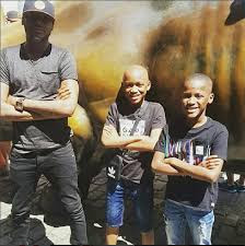 Photos Of Tuface and His Cute Sons In New York