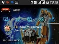 BBM MOD Theme Saint Saiya vs Dragons Style V3.3.1.24 APK (CLONE)