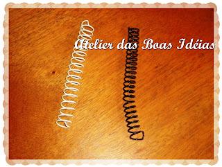 espiral de cadernos
