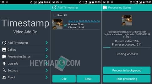 Cara Menampilkan Tanggal & Jam di Video Android