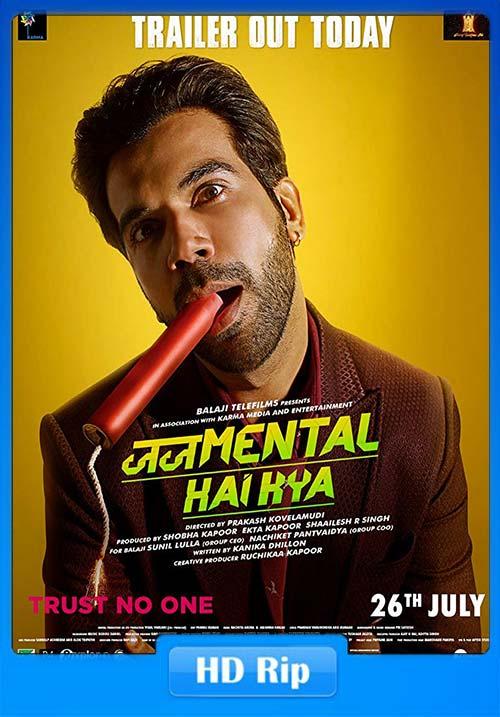 Judgementall Hai Kya 2019 Hindi 720p HDRip Esubs x264 | 480p 300MB | 100MB HEVC