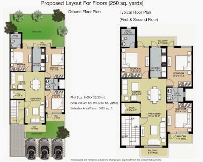 ambrosia layout plan