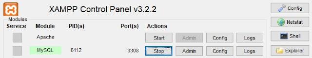 Configurar un nuevo puerto para MySQL