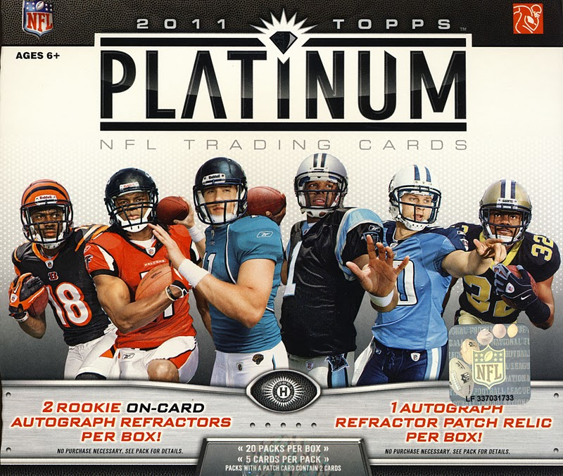 All About Sports Cards 2011 Topps Platinum Football Box