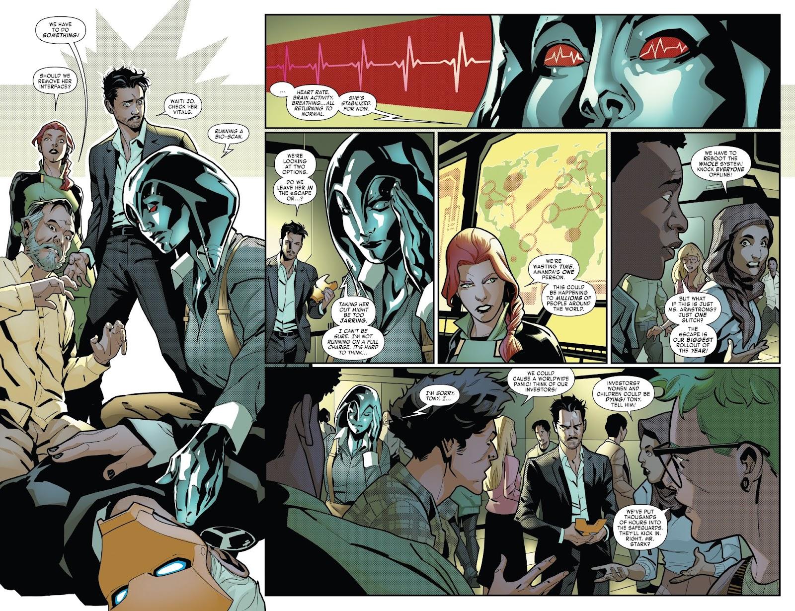 Read online Tony Stark: Iron Man comic -  Issue #7 - 11