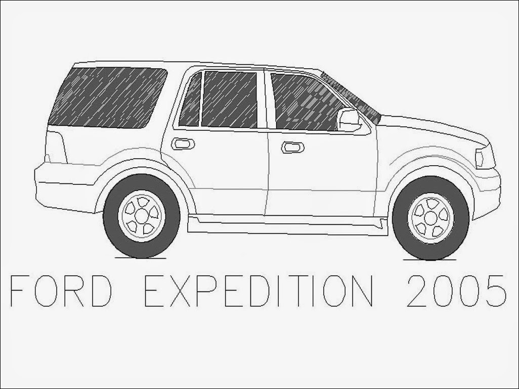 Ford Car Coloring Pages Realistic