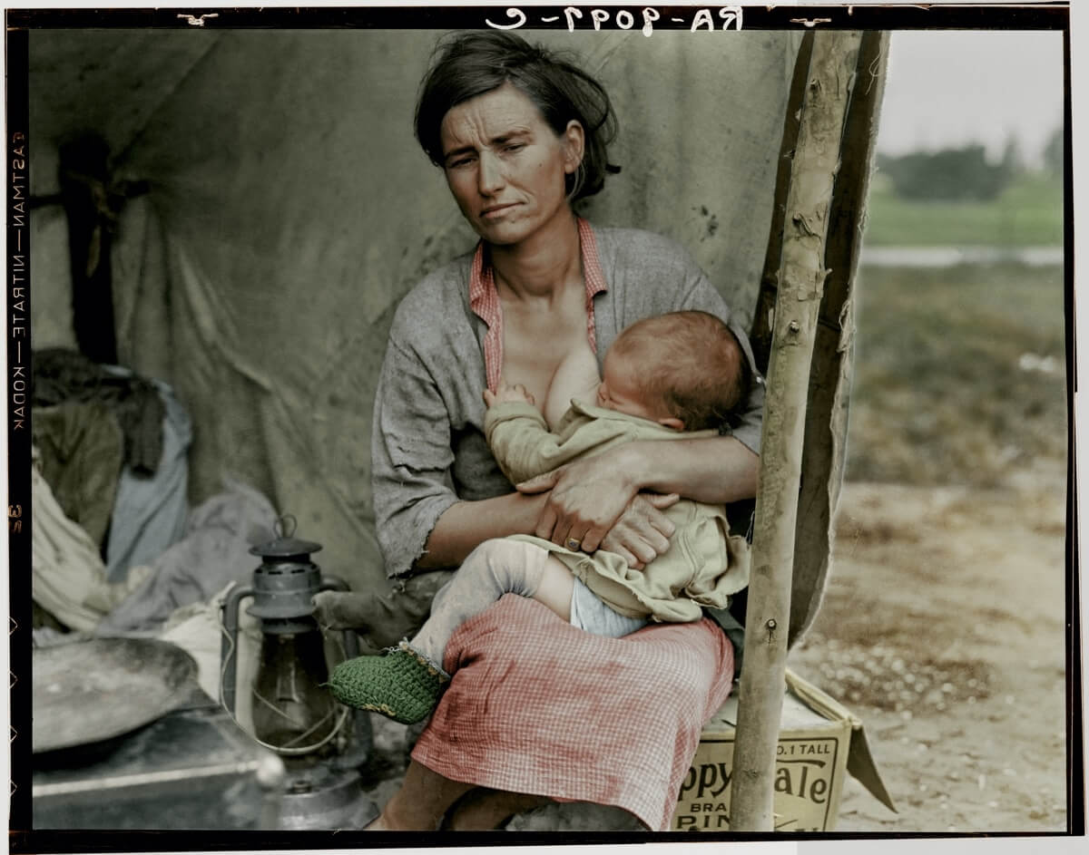 Astonishing Colorized Photographs Bring History Back To Life