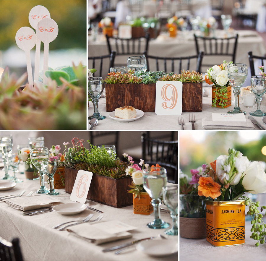 Greer Loves: Succulents Wedding Ideas: Centerpieces & Decor
