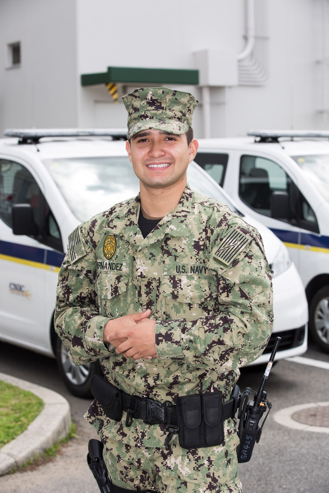 El Paso Native Serves with the U S  Navy Half a World Away With
