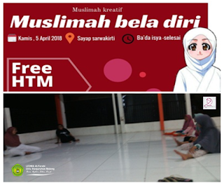 Pelatihan Bela Diri Oleh Kemuslimahan LEDMA Al-Farabi