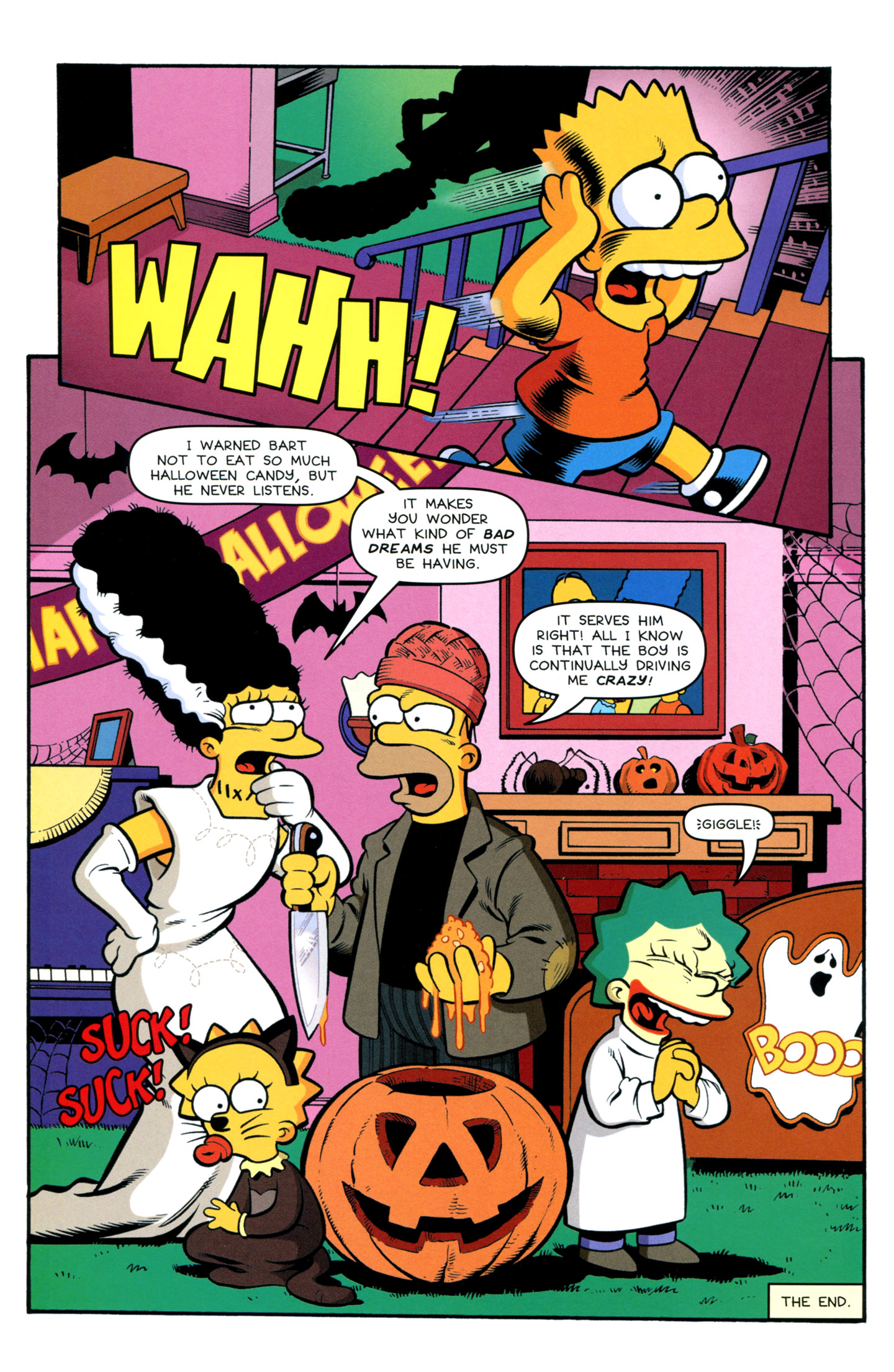 Read online Treehouse of Horror comic -  Issue #18 - 40