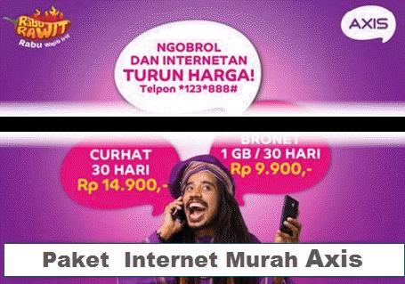 Paket Internet Murah Terbaru 2017