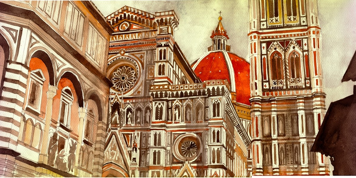 04-Maja-Wrońska-Architectural-Paintings-and-Drawing-Sketces-www-designstack-co