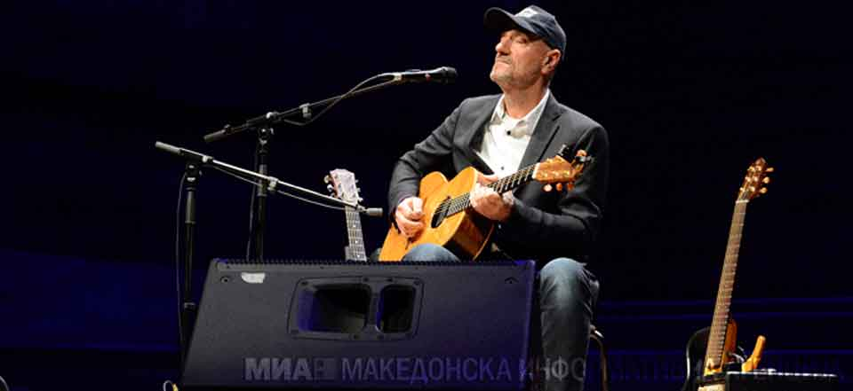 Prominent Macedonian guitarist Vlatko Stefanovski promotes 'Mother Tongue' album