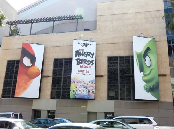 Angry Birds Movie billboards