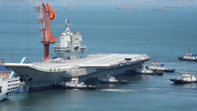 """China construye una """"nueva generación de portaviones"""" nucleares"""