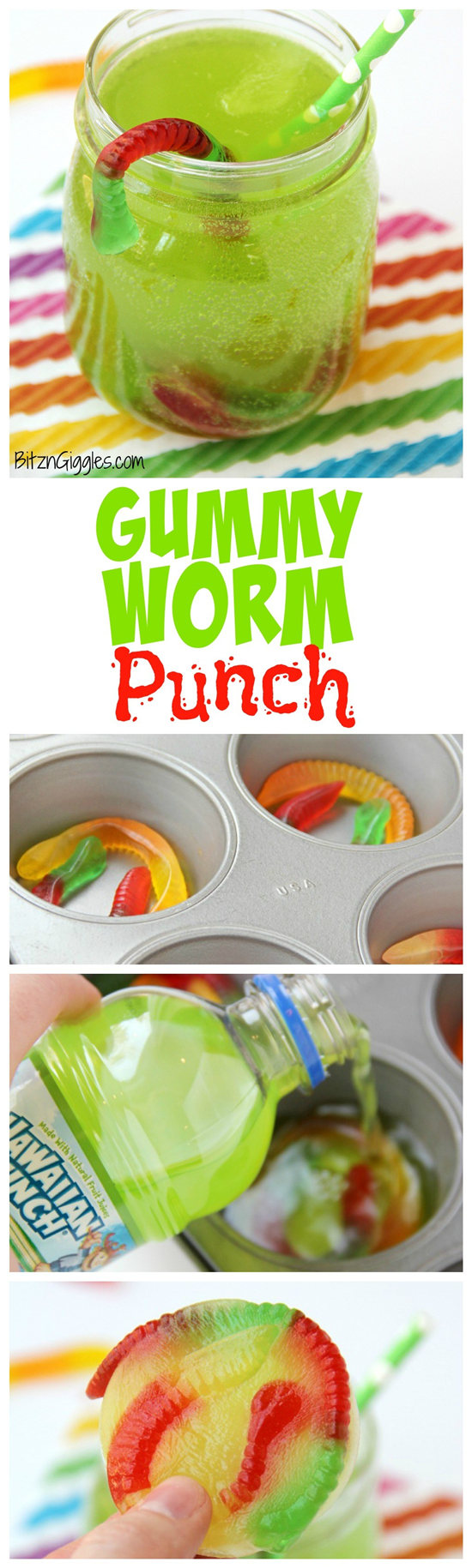 Gummy Worm Punch