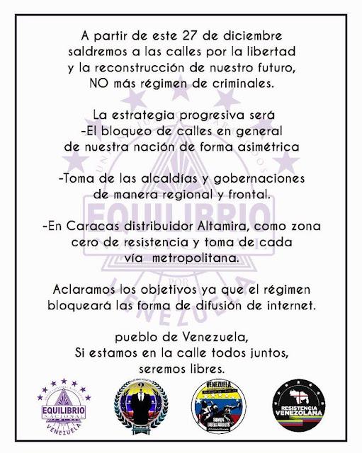 URGENTE ULTIMA HORA COMUNICADO DE EQUILIBRIO NACIONAL