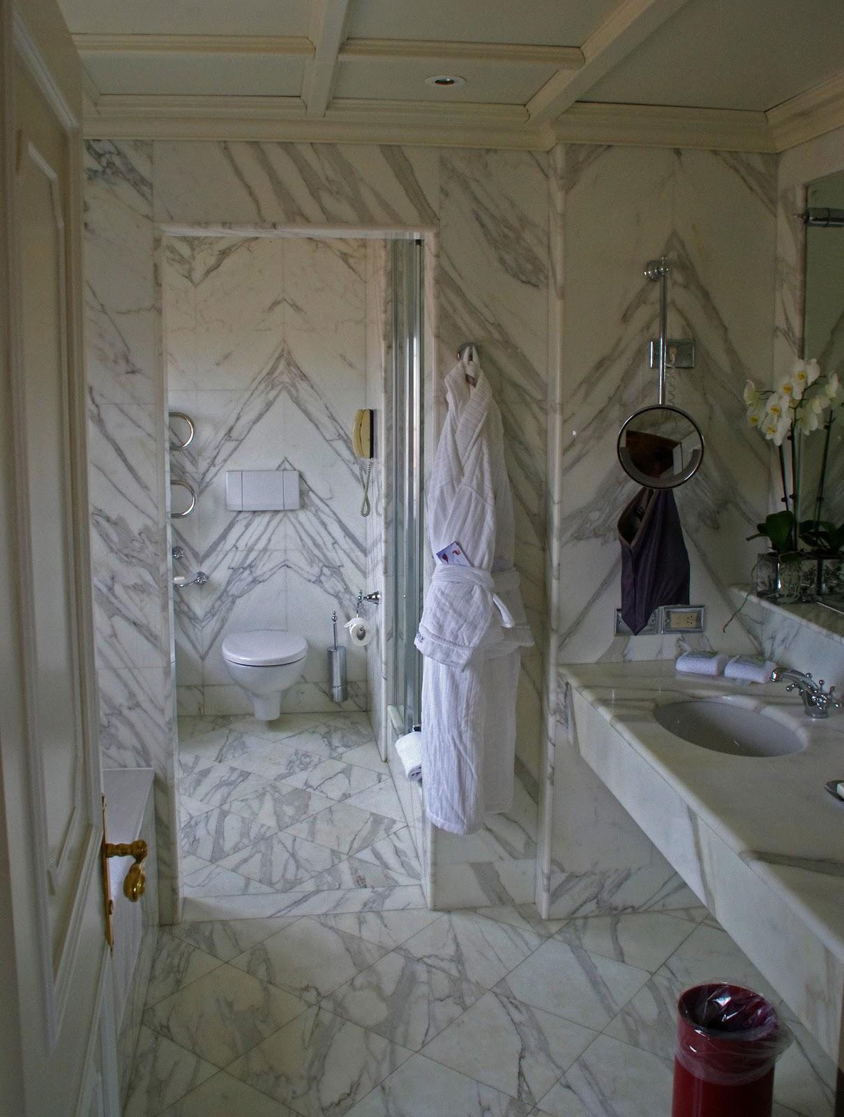 Westin Europa & Regina Venice Marble Bathroom