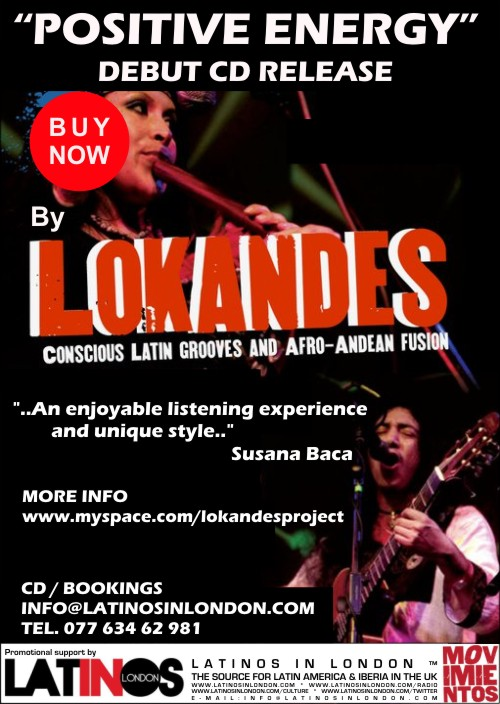 Artist supported by Latinos in London * info@latinosinlondon.com