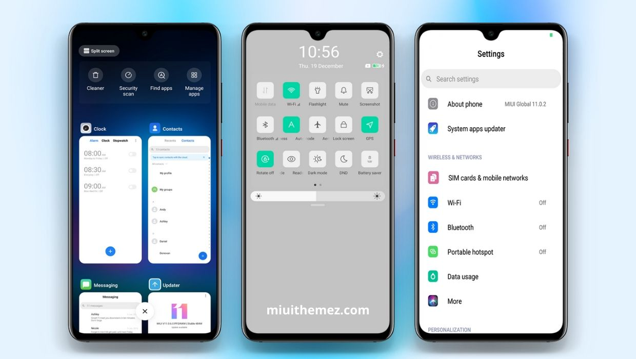 ColorOS 7 v11 Official MIUI Theme with Light and Dark Mode