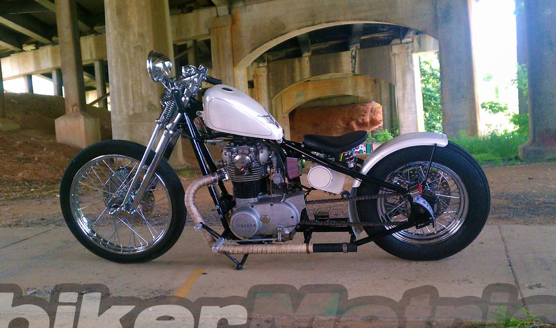 reader rides | tony's xs650 bobber - bikerMetric