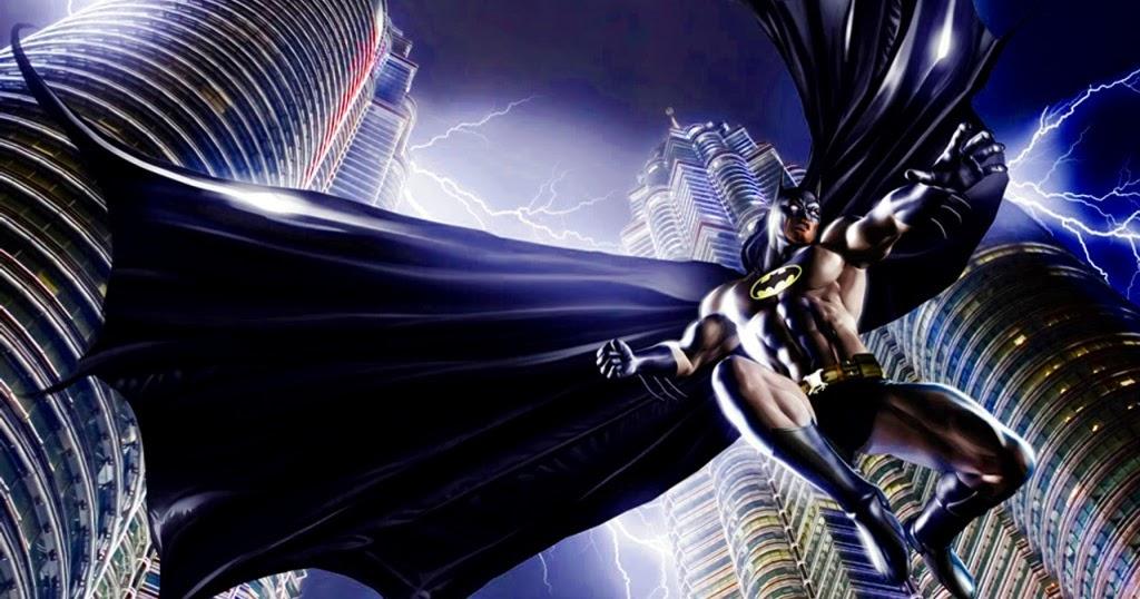 Mewarnai Gambar Batman  Mewarnai Gambar