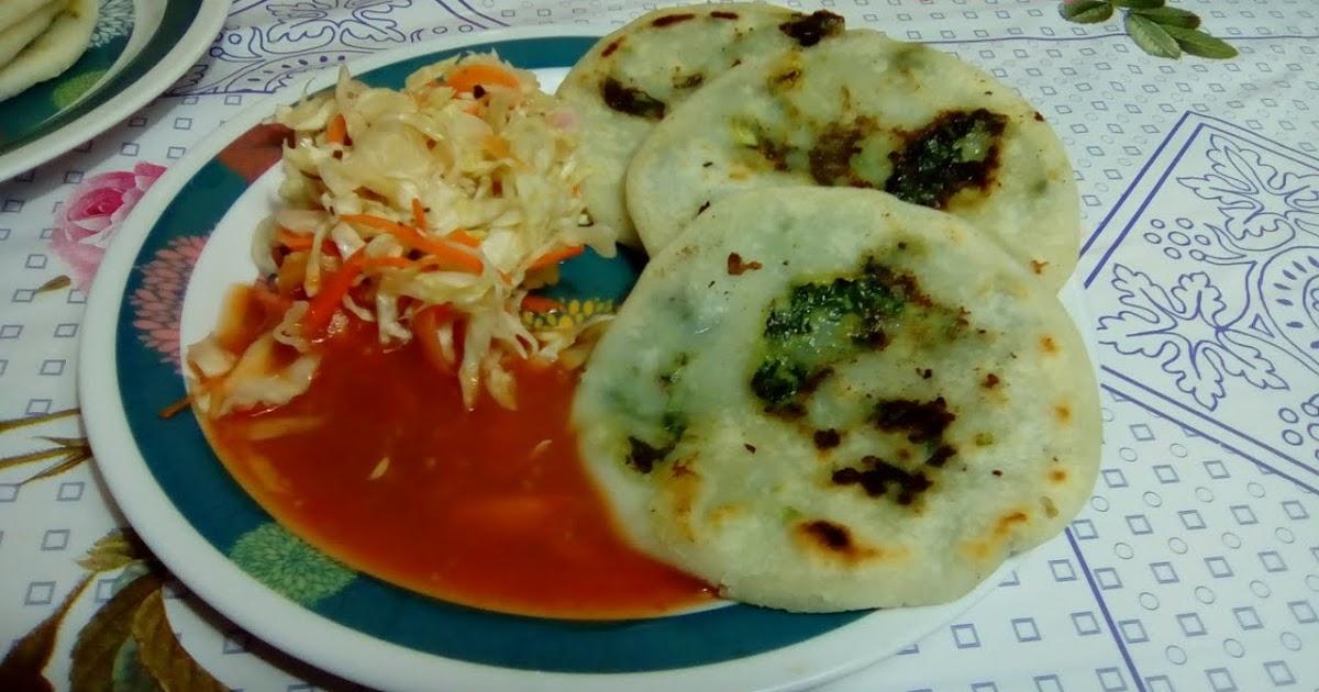 Pupusas de Mora (receta salvadoreña) | El Salvador