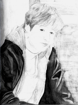 ryan atwood benjamin mckenzie fan art drawling the o.c.