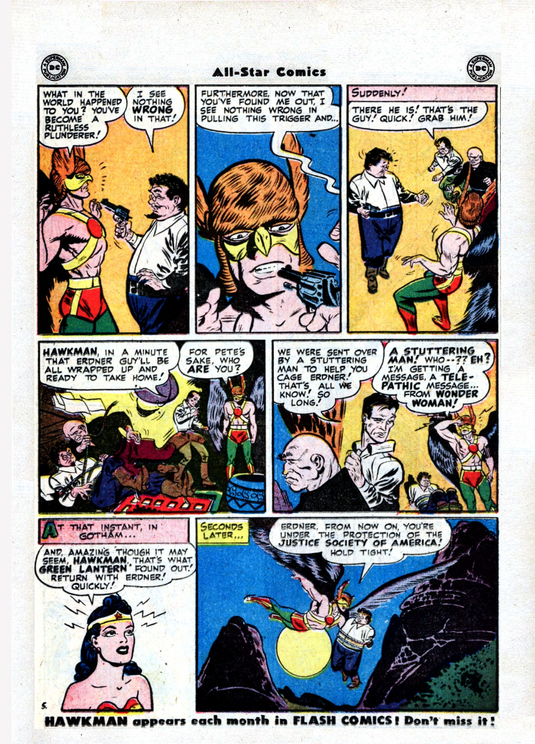 Read online All-Star Comics comic -  Issue #36 - 26
