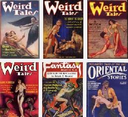 Conan történetek a régi magazinokban