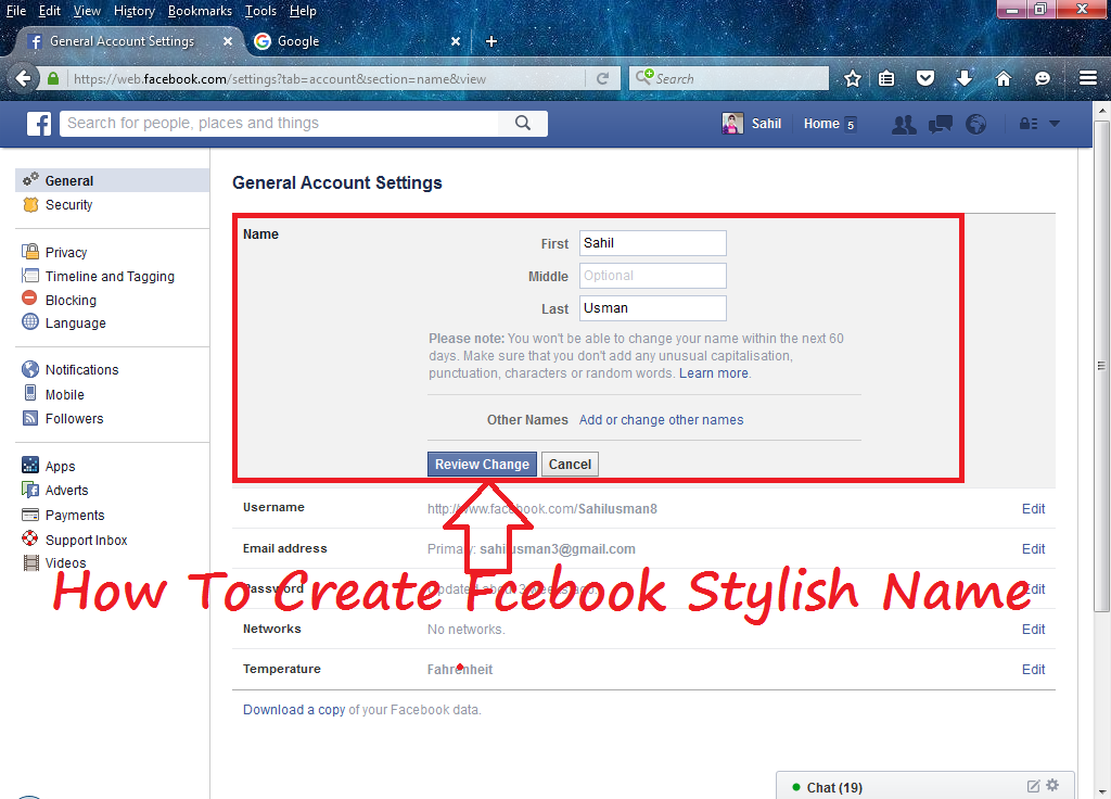 How To Write Name In Stylish Fonts In Facebook