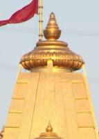 Wide and Flat Kalash,  Abu Ambaji Temple, Gujarat,   Wikimedia Commons