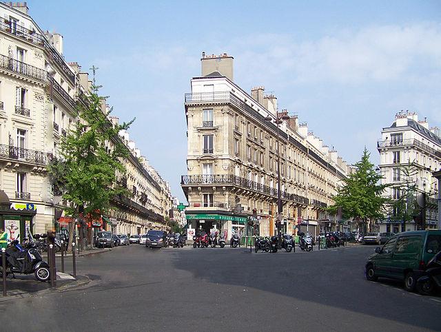 Ruas de Paris em Maio