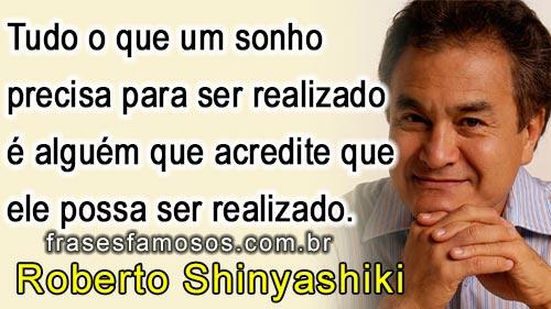 Frases Roberto Shinyashiki