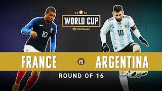 مشاهدة مباراة الارجنتين ضد فرنسا بث مباشر Argentina vs France Live اليوم في كأس العالم