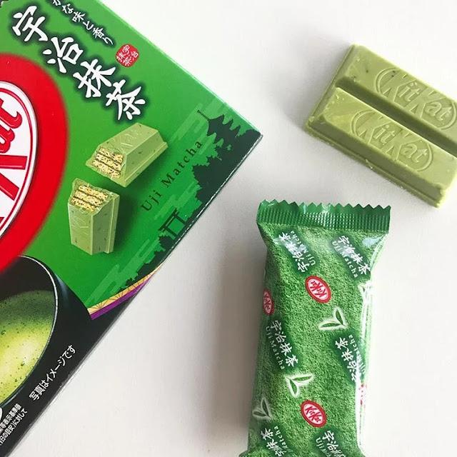 Kit kat rasa teh hijau