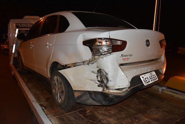 Roda de caminhão cai na pista e atinge violentamente 3 veículos na BR 364