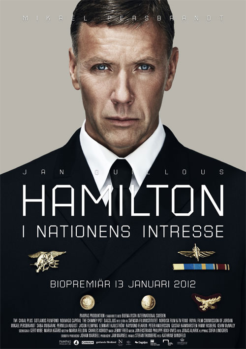 Hamilton I nationens intresse (2012) สายลับล่าทรชน 1