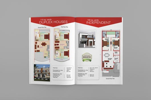 25 Real Estate Brochure Designs  JayceoYesta
